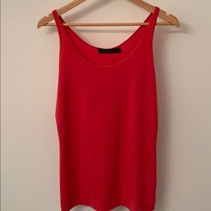 The Limited coral pink cami - size Large
